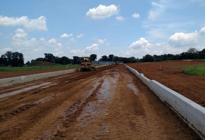 Earthwork Construction Management : Bulk earthwork fine grading barwis construction